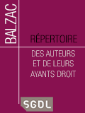 Répertoire BALZAC